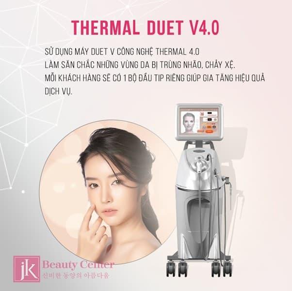 Công nghệ Thermage Duet V 4.0