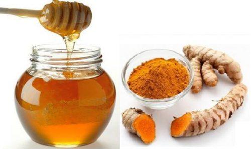 Trị nám với mật ong và nghệ