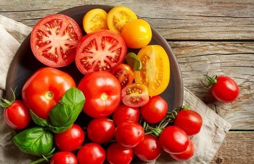 Dưỡng chất trong cà chua giúp nâng cao khả năng chống lão hóa