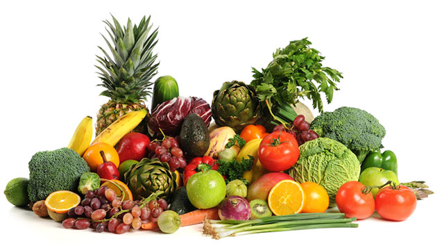Các loại rau, củ, quả là phương pháp tuyệt vời để thanh lọc cơ thể