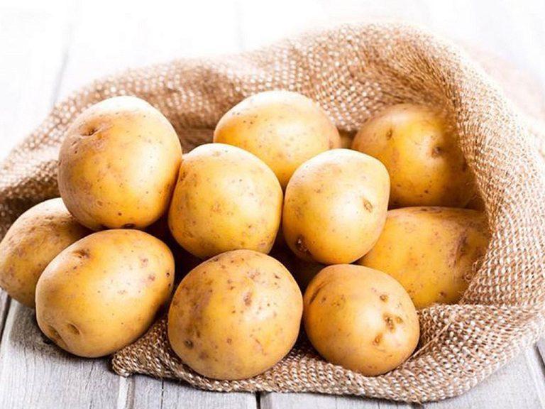 Khoai tây trong điều trị nám
