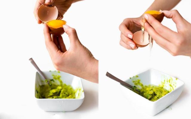Mặt nạ bơ trứng gà giúp da khỏe mạnh