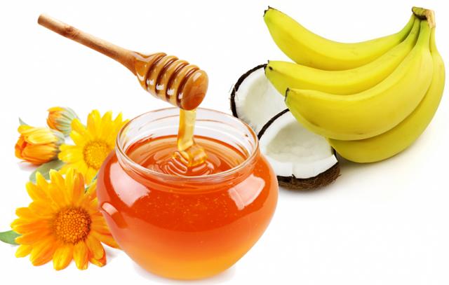 Mặt nạ trị nhăn da mặt từ mật ong và chuối