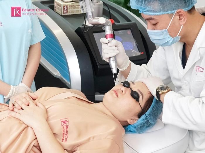 Máy móc hiện đại được JK sử dụng để điều trị cho người bệnh
