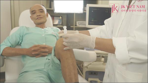 Tiêm tế bào nội khớp tại JK Việt Nam
