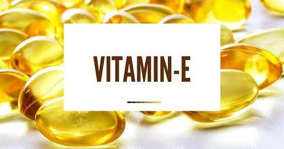 Vitamin E giúp chữa trị môi thâm hiệu quả