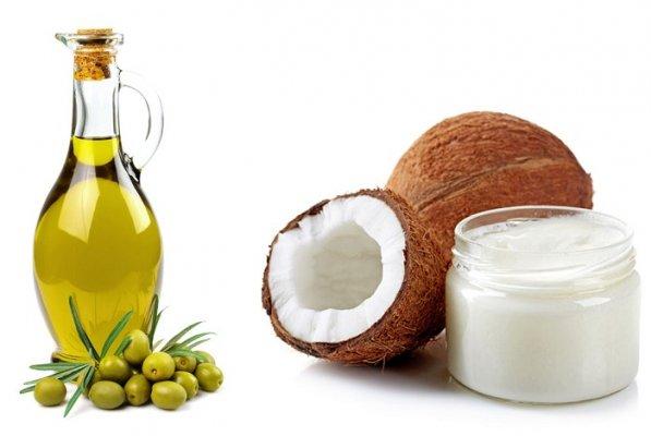 Dầu ô liu và dầu dừa khi kết hợp tạo ra mặt nạ dưỡng ẩm tuyệt vời cho làn da