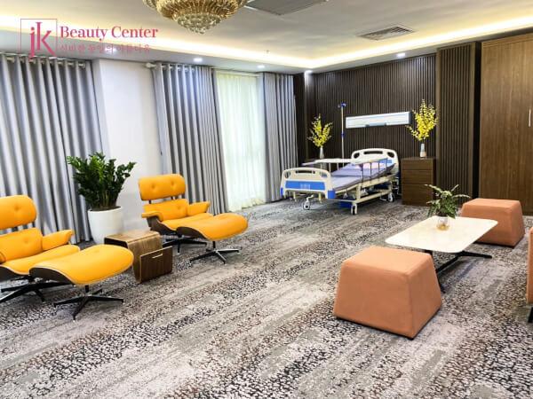 Góc phòng trị liệu khang trang và hiện đại của Phòng khám JK Việt Nam