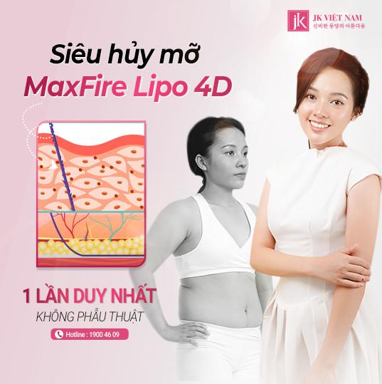 Siêu hủy mỡ Maxfire Lipo 4D