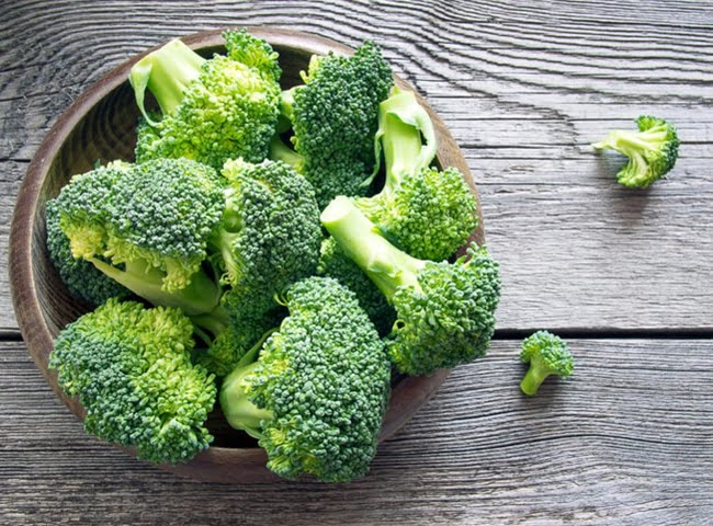 Bông cải xanh chứa nhiều khoáng chất tốt cho sức khỏe